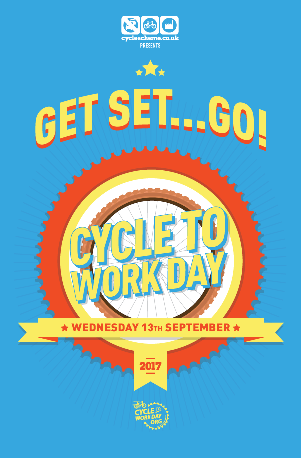 Pledge Now with Cycle To Work Day